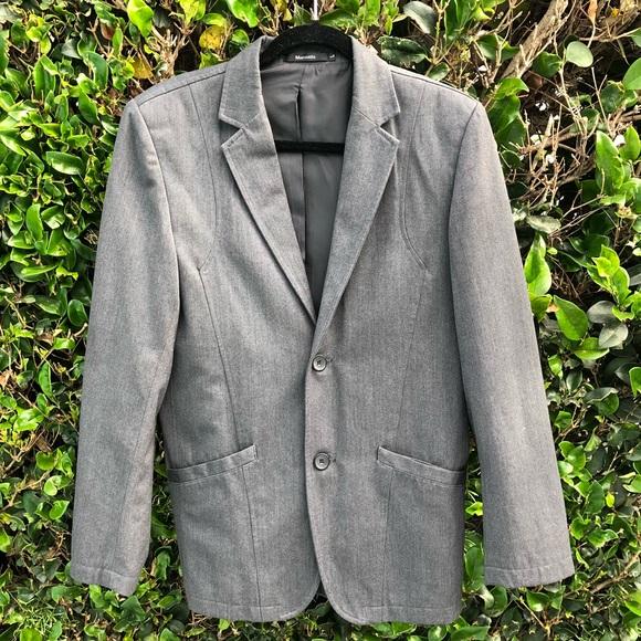 Matsuda Other - Matsuda Men Vintage Grey Suits Jacket Informal